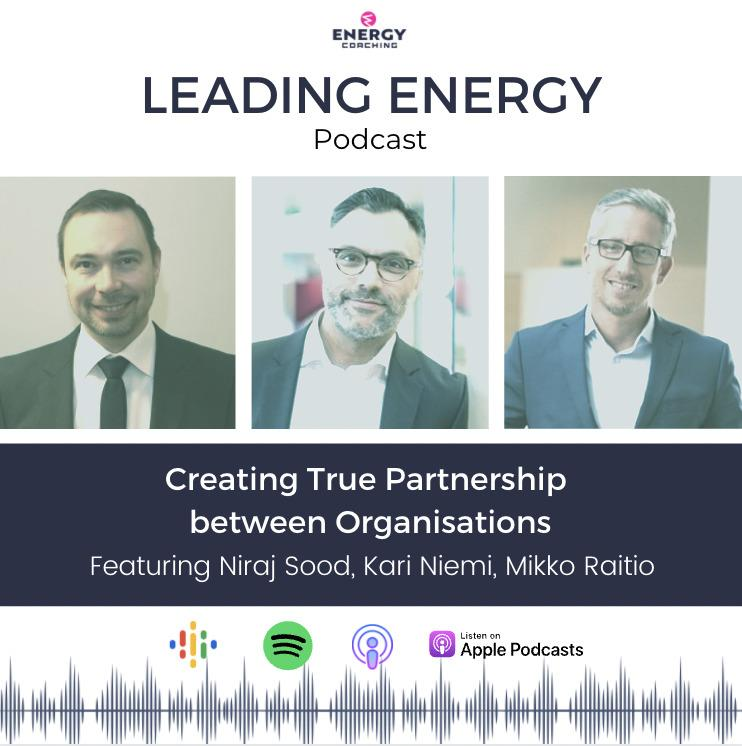 Energiavalmennus Leading Energy Podcast Leadership Coaching Partnership